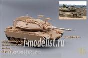 MM35174 Magic Models 1/35 105mm M68 barrel. For installation on magach 6B model (Meng, Academy). Version 1