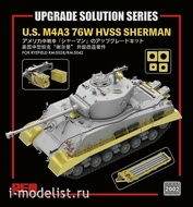 RM-2002 Rye Field Model 1/35 Травление M4A3 76W HVSS Sherman - RFM