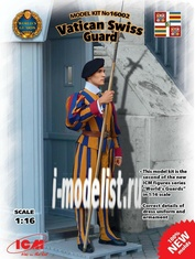 16002 ICM 1/16 Vatican Swiss Guard