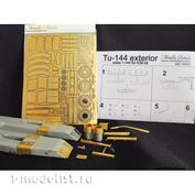 MD14403 Metallic Details 1/144 Фототравление для Tu-144 (ICM)