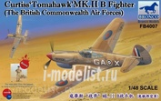 FB4007 Bronco 1/48 Curtiss 'Tomahawk' MK.II B Fighter (The British Commonwealth Air Forces)