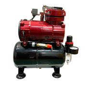 1228 JAS Compressor 1228, with pressure regulator, automatic, two modes of operation, receiver