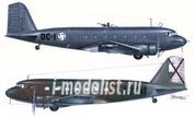 72527 MPM 1/72 Самолет DC-2 rebuilt Bomber
