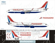 738-020 Ascensio 1/144 Scales the Decal on the plane Boeng 737-800 (Transero 2015)