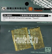 Th35001 Afvclub 1/35 Wwii British Churchill series 'Touch'