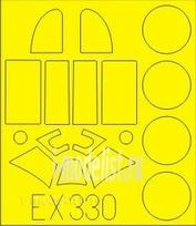 EX330 Eduard 1/48 Маска для Lavochkin La-5