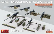 37047 MiniArt 1/35 Set Of American Machine Guns