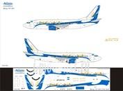 733-012 Ascensio 1/144 Декаль на самолет боенг 737-300 (SCAT)