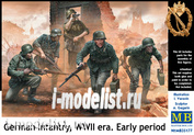 35177 MasterBox 1/35 German infantry WWII (early)