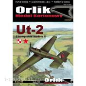 Orlik156 Orlik Бумажная модель УТ-2