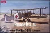 436 Roden 1/48 De Havilland DH. 9 Ambulance