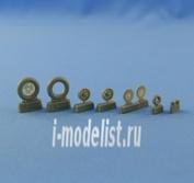 NS48020 North Star 1/48 Bf.109 E4-E-7 wheels set (