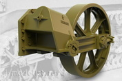 35008 Fury Models 1/35 Набор дополнений ленивец, ранний тип для легкого танка США M3