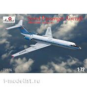 72276 Amodel 1/72 Пассажирский самолет Туполев Т-у-134А (Аэрофлот)