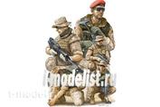 00421 Trumpeter 1/35 Modern German Isaf Soldiers in Afghanistan