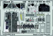 FE939 Eduard 1/48 Фототравление RF-101C