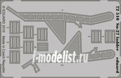 72510 1/72 Eduard photo etched parts for Su-27 ladder