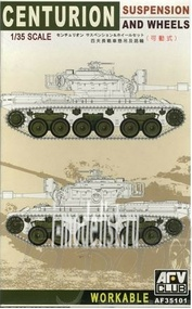 AF35101 AFVClub 1/35 Centurion Workable Suspension And Wheels