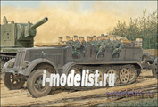 6545 Dragon 1/35 Sd.Kfz.7 8t Half-Track Early Production w/Crew-review