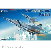KH80113 KittyHawk 1/48 Самолет Mig-25 Rb/rbt Foxbat