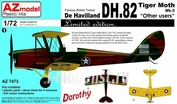 AZ7473 Azmodel 1/72 DH-82A Special Users (USAAF, Pl, Luftwaffe, Thai)