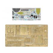 048021 Микродизайн 1/48 Набор фототравления на кабину Суххой-2 от Звезды