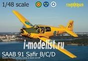 TA4804 Tarangus 1/48 Saab 91 Safir RT