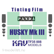 TF35 008 KAV Models 1/35 Тонировочная пленка на Husky Mk III VMMD (Panda)