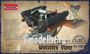 626 Roden 1/32 Двигатель Wolseley W4A Viper