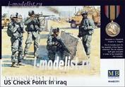 3591 MasterBox 1/35 Американский контрольный пункт в Ираке