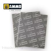 AMIG8557 Ammo Mig Шлифовальная губка (220) / SANDING SPONGE SHEET (220)