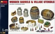 1/35 MiniArt 35550 Wooden barrels and village utensils
