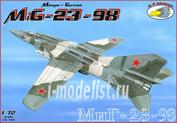 RVA72016 R.V.AIRCRAFT 1/72 MiG-23-98
