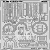 49644 Eduard 1/48 Фототравление для F-4B interior S.A.