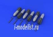 648190 Eduard 1/48 Набор дополнений для M 117 bomb w/airbrake