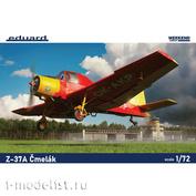 7456 Eduard 1/72 Aircraft Z-37A Čmelák