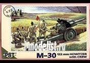 72040 Pst 1/72 Пушка М-30 с расчетом
