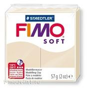 8020-70 Green Stuff World Полимерная глина FIMO Soft, 57 гр., цвета Сахары / Fimo Soft 57gr - Sahara