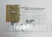 T35041 Мир Моделей 1/35 Фототравление Капот немецкого тяжёлого грузовика L4500R (Звезда 3647, 3596, 3603)