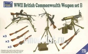 RE30011 Riich 1/35 WWII British Commonwealth Weapon Set B