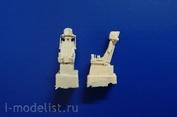 72304 Neomega 1/72 Катапультное кресло К-36Д 3,5 (2 шт) для Суххой-57, Як-130