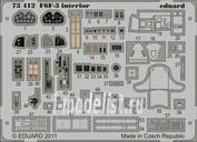 73413 Eduard 1/72 Фототравление для F6F-5 interior S.A.