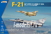 K48053 Kinetic 1/48 F-21A/Kfir C1 Kit First Look