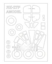 72530 KV Models 1/72 Набор окрасочных масок для Як-27Р + маски на диски и колеса