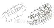 7067 CMK 1/72 Набор дополнений Bf-109E - engine set for TAM (DB-601)
