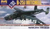 01E01 HK models 1/32 Американский средний бомбардировщик B-25J Mitchell