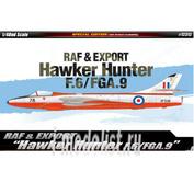 12312 Academy 1/48 Cамолет RAF & Export Hawker Hunter F.6/FGA.9