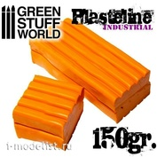 1486 Green Stuff World Пластилин оранжевый 150 г / Plasteline Orange 150gr.