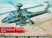72054 Mirage Hobby 1/72 Вертолет AH-64D Apache Longbowe multi-mission combat helicoter