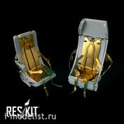 RSU48-0002 RESKIT 1/48 Кресло пилота для Mu-24